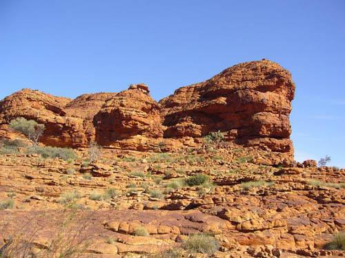 Пустынные скалы в Северной Австралии