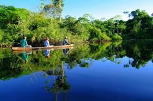 Переправа через Амазонку