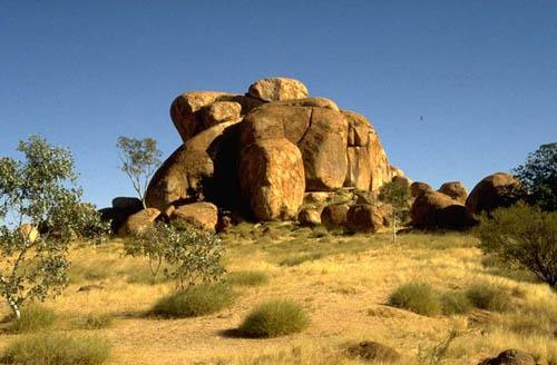 Скалы в Северной Австралии