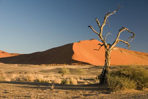 Пески в Африке