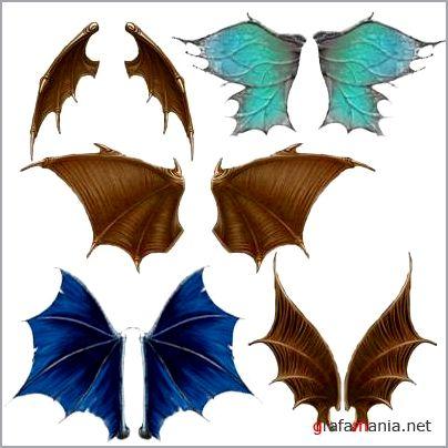 крыло для дракона картинки